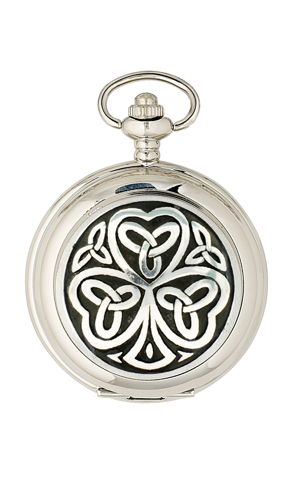 Shamrock Mechanical Pocket Watch