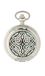 Celtic detailed Quartz Pocket Watch