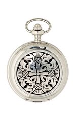 Four Thistle Mechanical Pocket Watch