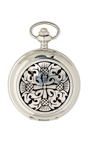 Four Thistle Quartz Pocket Watch