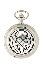 Thistle Mechanical Pocket Watch