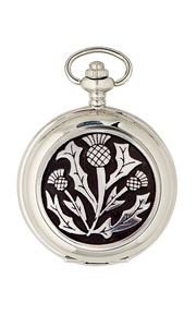 Three Thistle Quartz Pocket Watch