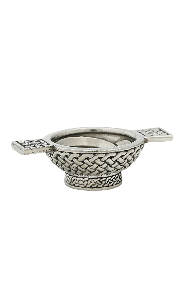 1.25'' Celtic Mini Pewter Quaich