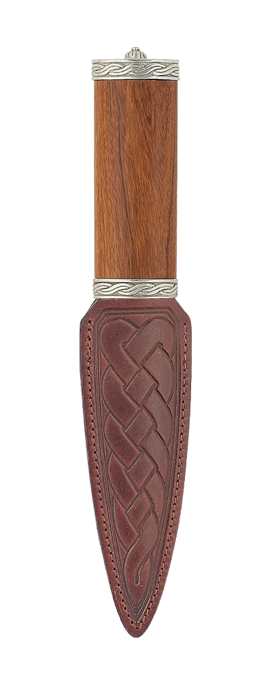 Torrindon Rosewood Sgian Dubh with Plain Top