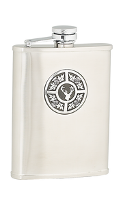 6oz Thistle & Stag Stainless Steel Flask