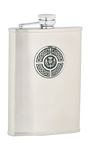 8oz Celtic & Thistle Stainless Steel Flask