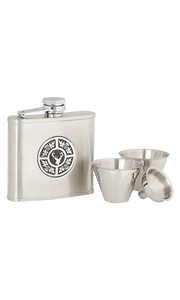 4oz Thistle & Stag Stainless Steel Flask Set