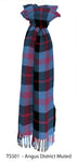 Scottish District Tartan Lambswool Scarf