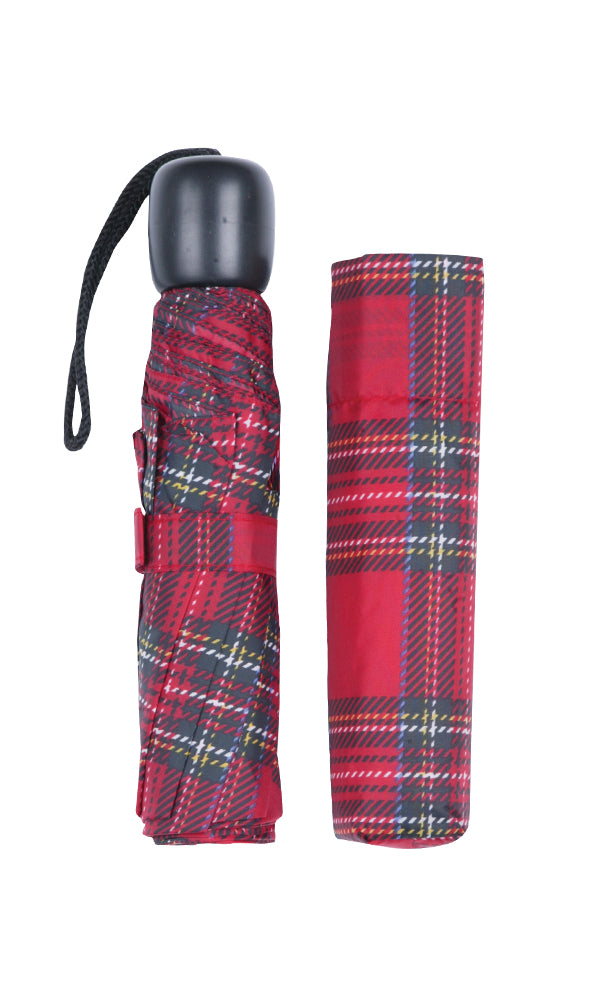 Royal Stewart Tartan Mini Folding Umbrella