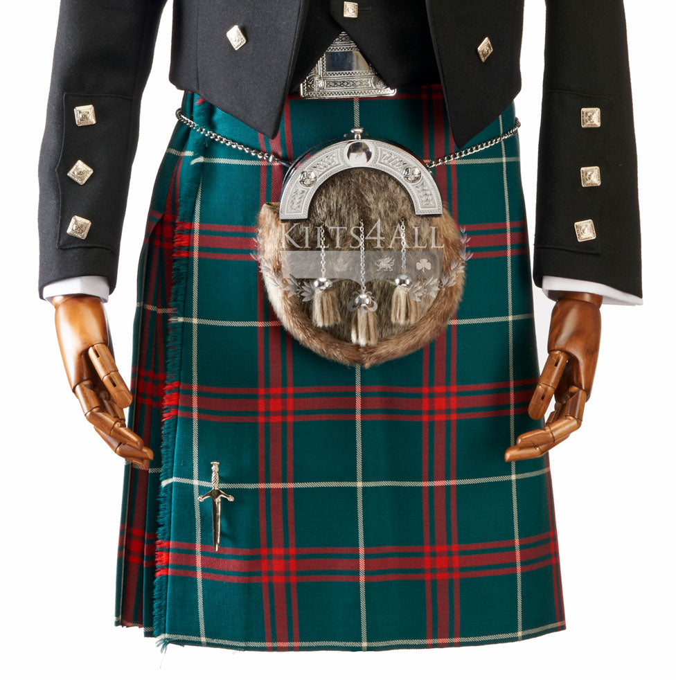 Mens Full Dress Tartan Kilt - 7 yard