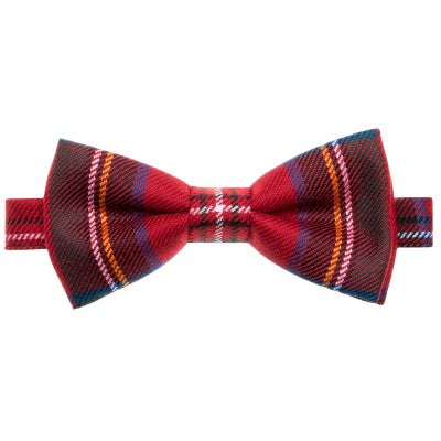 Tartan Bow Tie Ready Made Bow or Self Tie