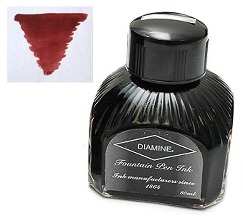 Diamine Refills Rustic Brown  Bottled Ink 80mL