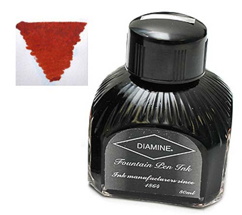 Diamine Refills Ancient Copper  Bottled Ink 80mL