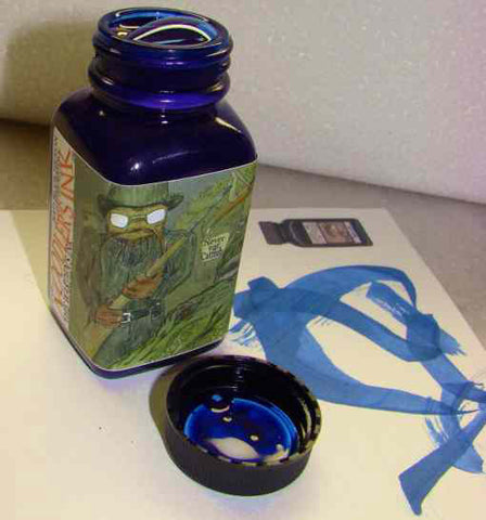 Noodler's Ink Refills Wardens Bad Blue Heron  Bottled Ink