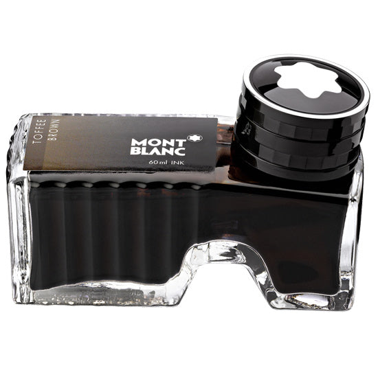 Montblanc Refills Toffee Brown 60ml  Bottled Ink