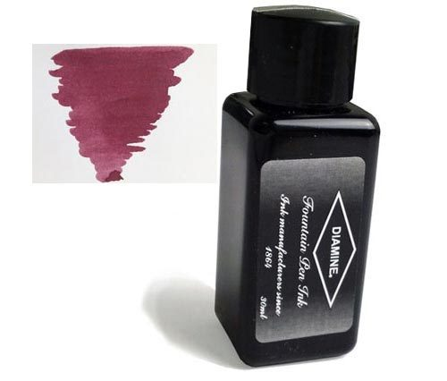Diamine Refills Tyrian Purple 30mL  Bottled Ink