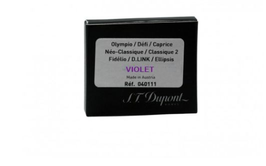 S.T. Dupont Refills Violet  Fountain Pen Cartridge