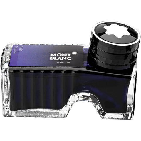 Montblanc Refills Royal Blue 60ml  Bottled Ink