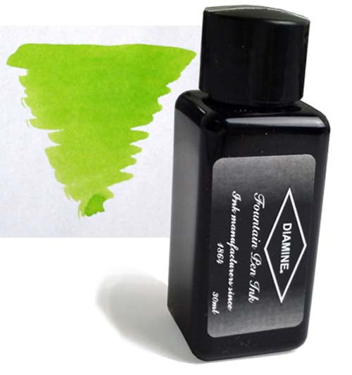 Diamine Refills Jade Green 30mL  Bottled Ink