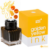 Montblanc Refills Golden Yellow Ink 30ml Bottled Ink