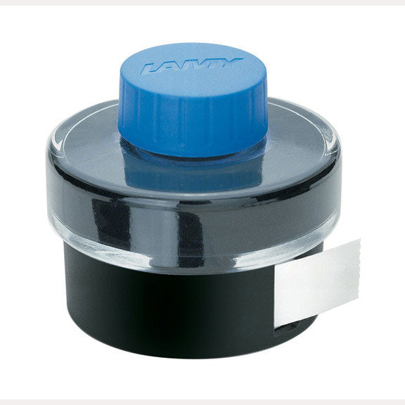 Lamy Refills Blue 50ml Ink with Blotting Paper   Bottled Ink
