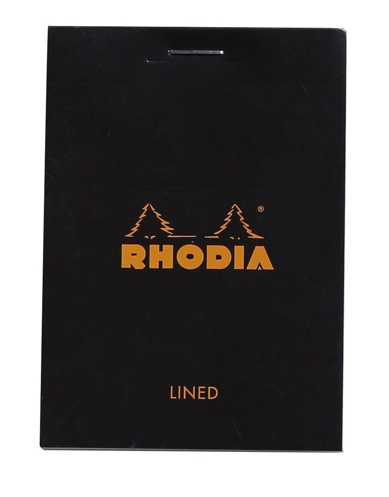 Rhodia Staplebound - Notepad - Black - Lined - 3 x 4