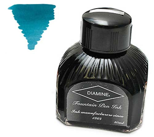 Diamine Refills Eau de Nil  Bottled Ink 80mL