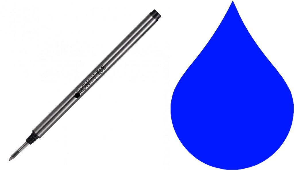 Montblanc Refills By Monteverde - Rollerball Pen - Blue - Fine Point
