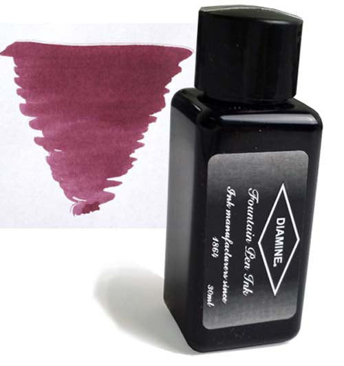 Diamine Refills Merlot 30mL  Bottled Ink