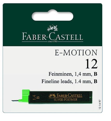 Faber-Castell Super Polymer - Refill - Fine lead - 1.4mm