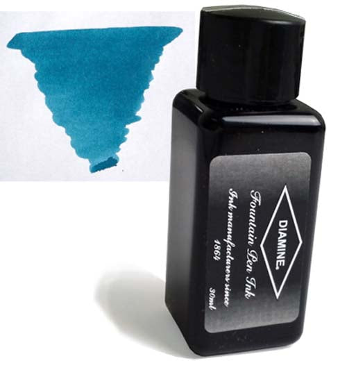 Diamine Refills Eau de Nil 30mL  Bottled Ink