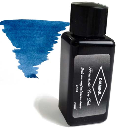 Diamine Refills Prussian Blue 30mL  Bottled Ink