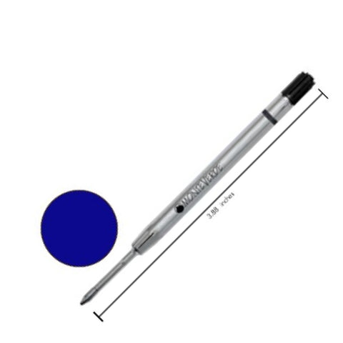 Monteverde - Refills - Blue - Ballpoint Pen - Broad Point - Parker-Style - Capless