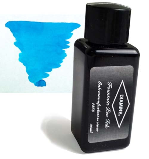 Diamine Refills Havasu Turquoise 30mL  Bottled Ink
