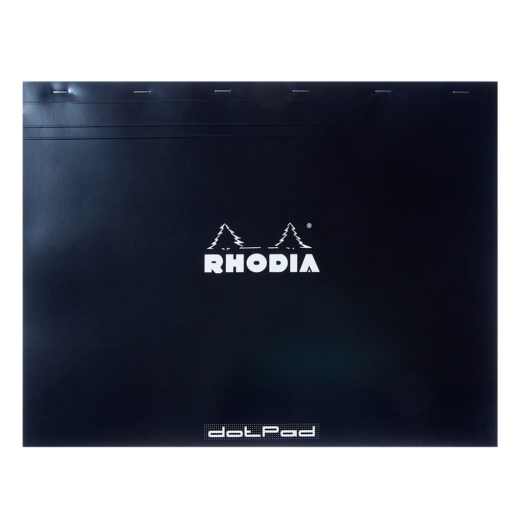 Rhodia Dot Pad - Black - Matrice Points 5mm - 16.5 x 12.5