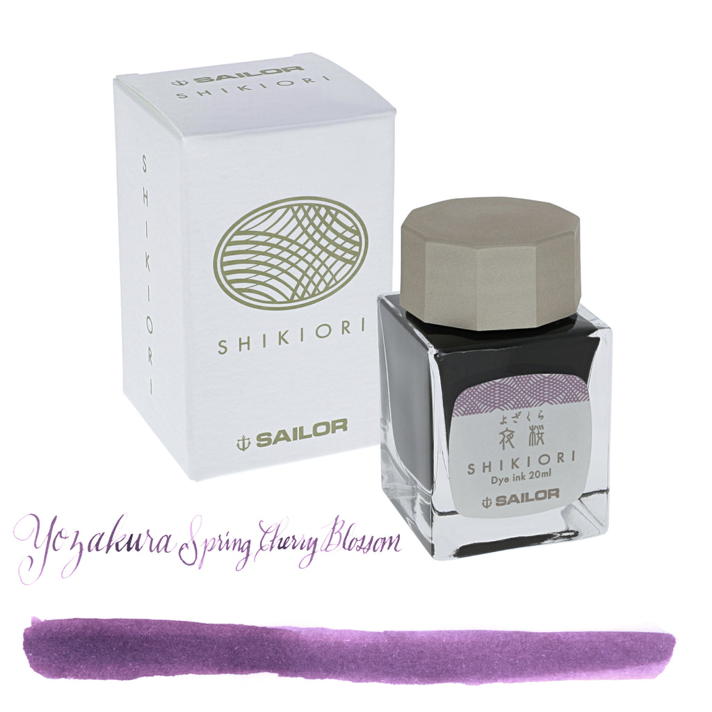 Sailor Refills Shikiori Four Seasons - Yozakura Evening Spring Cherry Blossom 20ml Bottled Ink