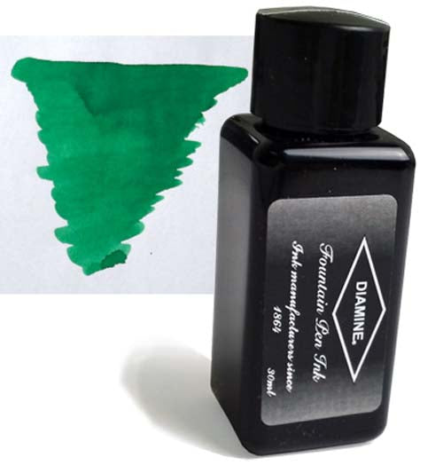 Diamine Refills Ultra Green 30mL  Bottled Ink