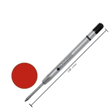 Monteverde - Refills - Parker-Style Capless - Red - Fine Point - Gel Pen