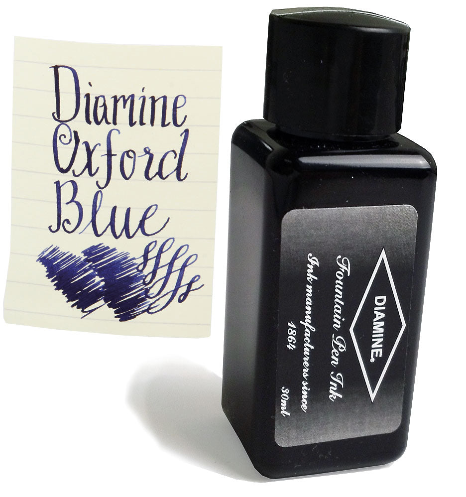 Diamine Refills Oxford Blue 30mL Bottled Ink