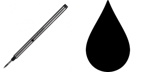 Montblanc Refills By Monteverde - Rollerball Pen -  Black - Fine Point