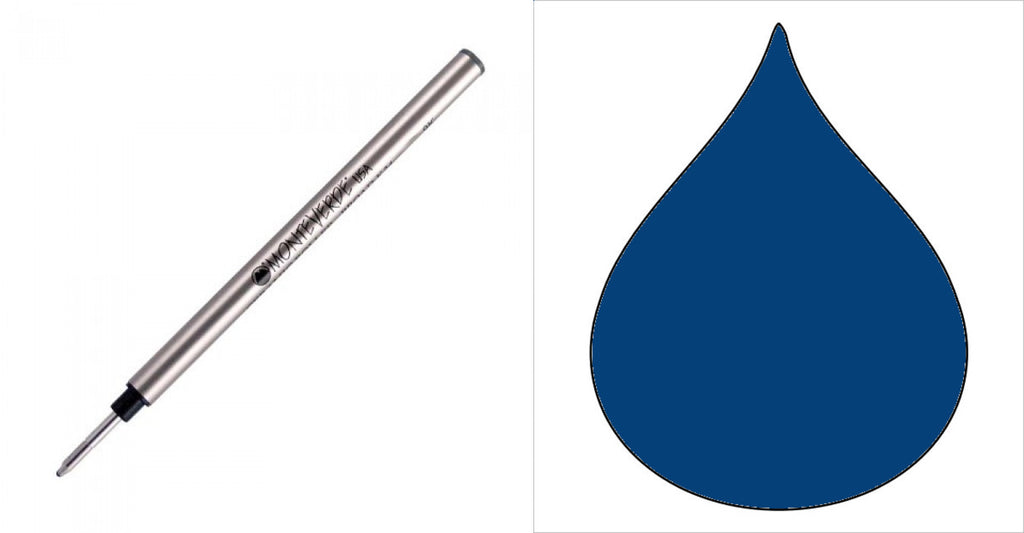 Pelikan Capless Ceramic Refills by Monteverde - Rollerball Pen - Blue/Black - Broad Point