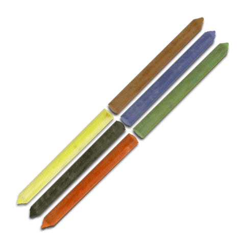 Monteverde - Refills - Pencil Lead - 5.6mm - Assorted Colors - by Delta - 12 Pack