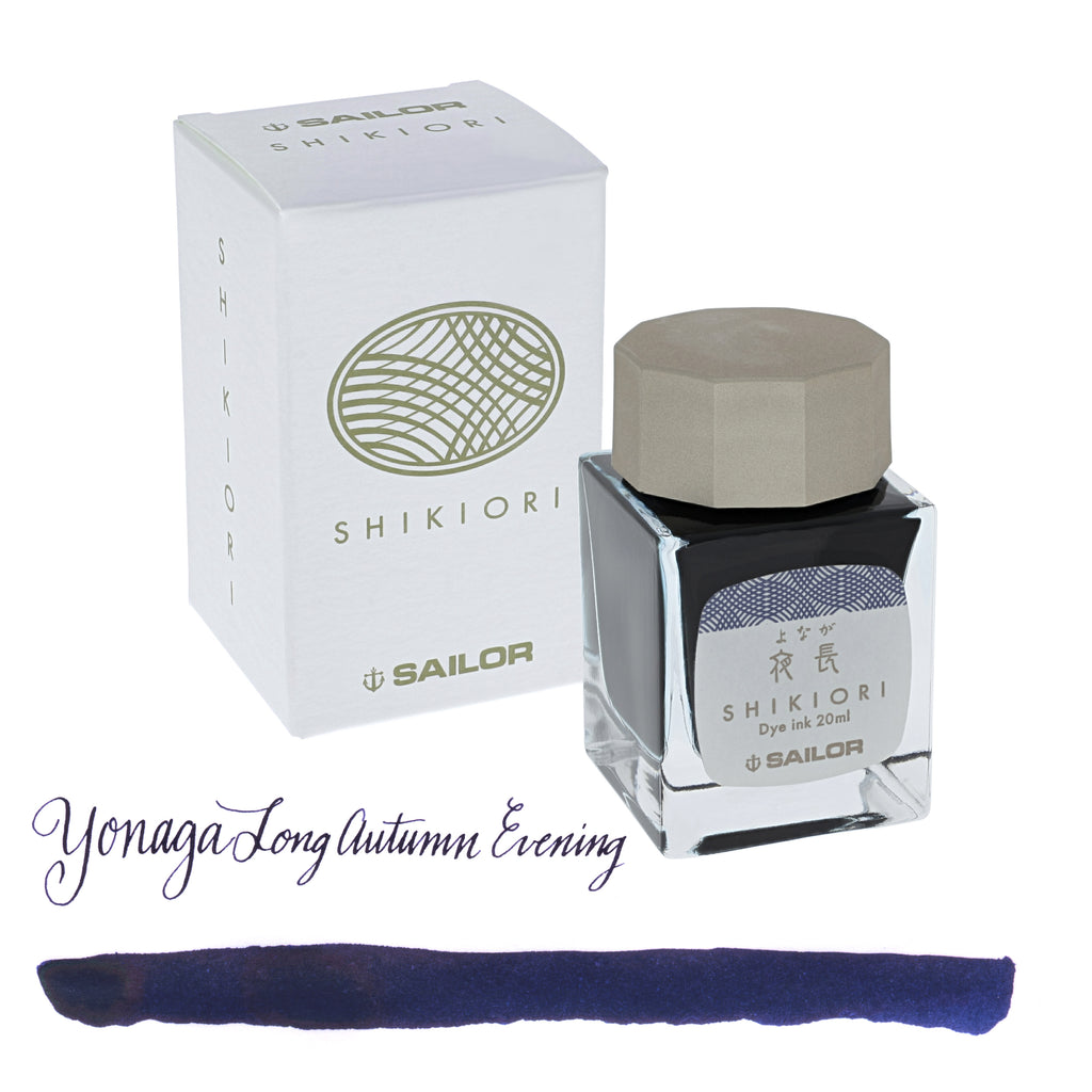 Sailor Refills Shikiori Four Seasons - Yonaga Long Autumn Evening 20ml Bottled Ink