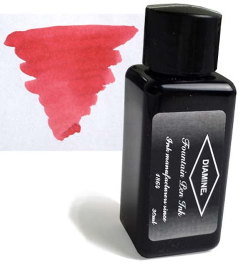 Diamine Refills Maroon 30mL  Bottled Ink