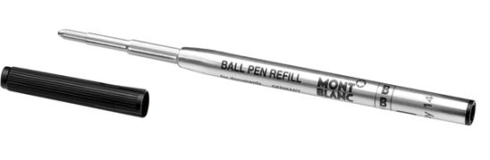 Montblanc Refills Mystery Black Broad Point Ballpoint Pen
