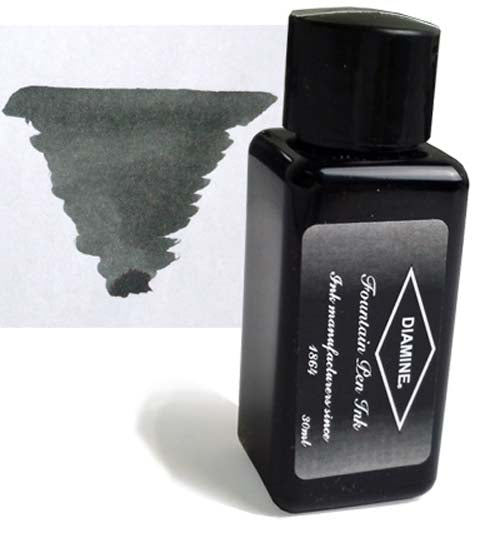 Diamine Refills Graphite 30mL  Bottled Ink
