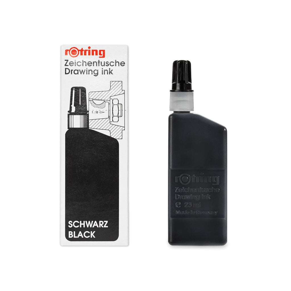 Rotring Refills - Isograph Liquid Ink 23ml - Black