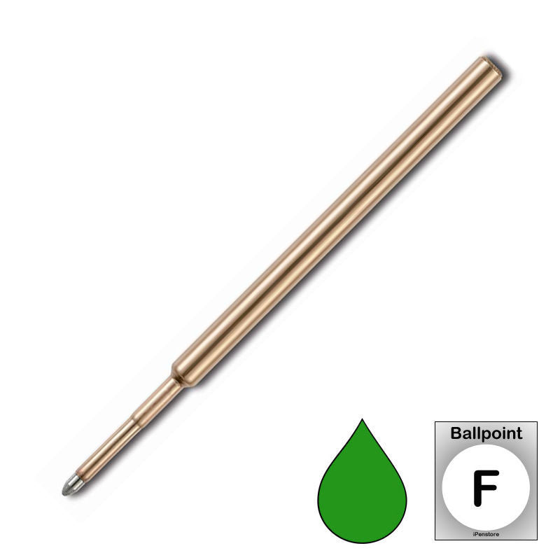 Fisher Space Pen - Refills - SPR3F Pressurized Cartridge - Green Ink - Fine Point