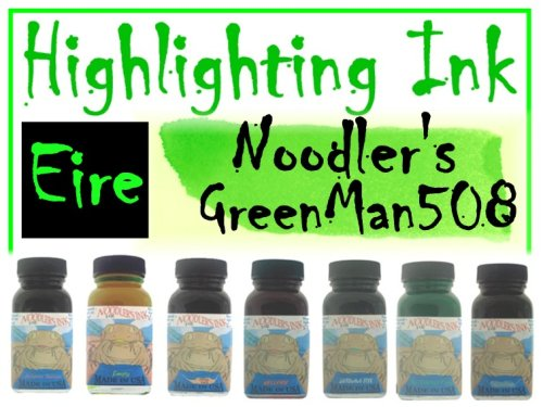 Noodler's Ink Refills St. Patty's Fire  Bottled Ink