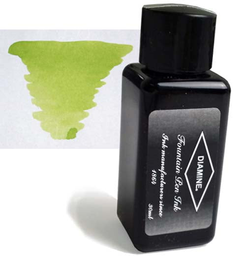 Diamine Refills Light Green 30mL  Bottled Ink